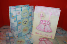Baby Gift Bag Assortment, Heavy Duty Paper Gift Bags medium Pack of 8