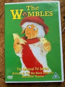 The Wombles DVD Orinoco And The Big Black Umbrella 1970s Cult Kids TV Series