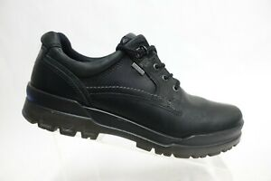 ECCO Track II Black Sz 11.5 (45 EU) Men Gore-Tex Waterproof Low-Top Hiking Shoes