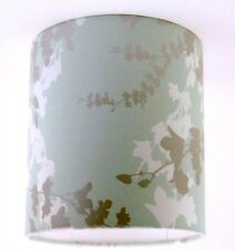 "20cm/8"" Lampshade Handmade with Laura Ashley Hawthorn Eau De Nil Wallpaper Green"