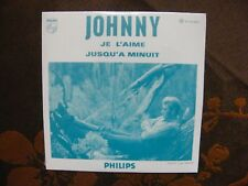 CD Single Reissue JOHNNY HALLYDAY - Je L'Aime / Philips 9838051 (2006)  NEUF