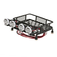 1:10 Scale Roof Rack with LED for Axial, Scx10, Traxxas, RC4WD Crawler Truck