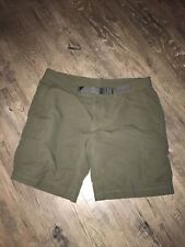 Mens The North Face Army Green Hiking Exercise Shorts Size 40