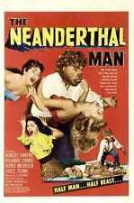 Neanderthal Man Poster 01 A2 Box Canvas Print
