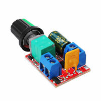 Safe Mini DC Motor Controller Ultra Compact High Speed PWM LED Dimmer 3V-35V 5A