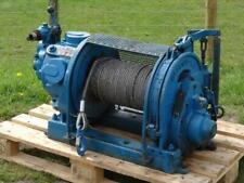 Ingersoll Rand HU5 UL Automatic Brake Pneumatic Air Winch Hoist 1.5 Ton