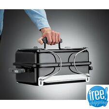 Weber Portable Charcoal Grill Set Tailgate Camping BBQ Patio Backyard Lid Small