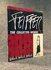 [Jules] Feiffer. The Collected Works. Vol. Three. Signed + signed note card