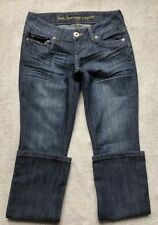 GUESS Women's Jeans Size 28 Pismo Fit Low Rise Straight  Dark Wash Jeans