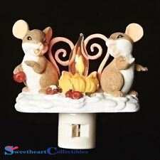 Charming Tails 131122 Mice by the CampFire Night Light 2018