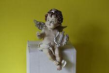 zauberhafter Kantensitzer Dekofigur Figur Engel Putte Putto