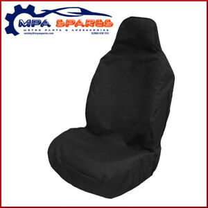 UNIVERSAL HEAVY DUTY FRONT SEAT COVER FOR DAF, VOLVO, MAN, SCANIA, IVECO (BLACK)