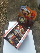 LOT 16x POWER RANGERS ITALY EUC JUNGLE FURY ACTION FIGURE BLIND BAGS IN CDU NEW