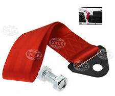 Red Racing Tow Strap Universal Race Cars Rally Competition Towing Straps