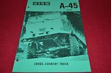 Sisu A-45 Truck Dealers Brochure DCPA4