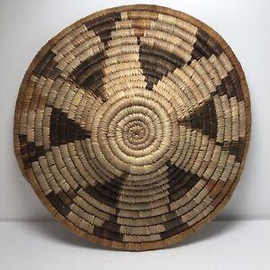 Handmade Woven Wicker Wall Hanging Basket Bowl Decor Handmade in Botsawana