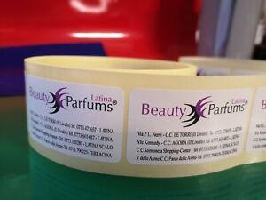 5000 Etichette adesive - chiudibusta - chiudipacco - adesivi - labels -
