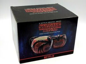 Stranger Things Mug Mind Flayer Carved 3D Mug New Collector's Box
