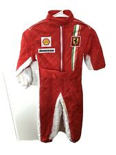 "Ferrari Scuderia Race Suit 4 4T Red Child F1 ""Formula 1"" Driver  Bridgestone"