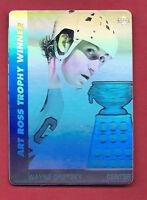 1991-92 UPD NO# WAYNE GRETZKY ART  HOLOGRAM INSERT BLANK BACK  CARD
