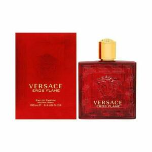 VERSACE EROS FLAME For Men 100ml 3.4 oz Eau de Parfum Spray (New in Box Sealed)