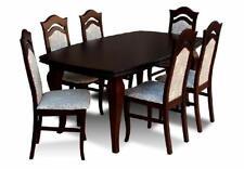 Esstisch + 6x Stühle Stuhl Esszimmer Set Essgruppe Gruppentisch Tisch Tische Z14