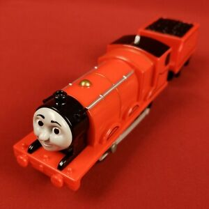 2013 Trackmaster #5 Motorized James and Red Tender Car Thomas Train Friends