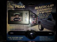 "Peak PKC0RA Wireless Backup Camera and Monitor w/2.4"" Color LCD Monitor NEW"