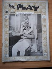 THE PLAY PICTORIAL Issue 151 The Man Who Stayed at Home - Dennis Eadie, I Elsom