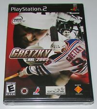 Gretzky NHL 2005 for Playstation 2 PS2 Brand New! Factory Sealed!