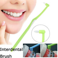 Dental Floss Cleaner Interdental Brushes Bristles Orthodontics Soft Oral Care