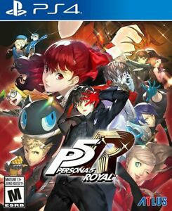 Persona 5 Royal PS4 Standard Edition Playstation Station 4 Video Game
