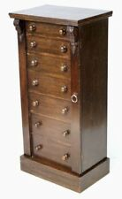 Antique Seven Drawer Wellington Chest c1880 - FREE Shipping [PO_006]