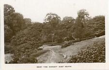 "REAL PHOTOGRAPHIC POSTCARD NEAR ""THE VIADUCT"", EAST HEATH, (LONDON), MIDDLESEX"