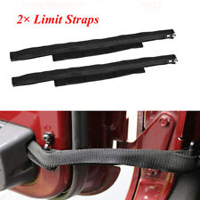Oxford Cloth Door Limited Straps Car  Accessories For Jeep Wrangler JK 2007-2017