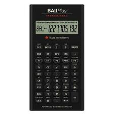 Texas Instruments TI BA II Plus Professional Financial Calculator 10Character(s)