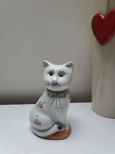 Vintage Cute Cat/KITTEN Porcelain Figurine Ornament Decorative Approx