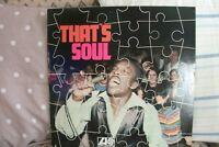 VARIOUS ARTISTS - That's Soul (VINYL ALBUM) . FREE UK P+P ......................