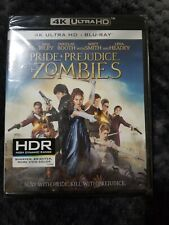 PRIDE AND PREJUDICE AND ZOMBIES 4K ULTRA HD UHD BLU RAY 2 Disc