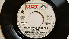 MILLS BROTHERS - Guy on the Go / What Have I Done For Her Lately POP JAZZ Promo