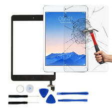 White Touch Screen Glass Digitizer Replacement for iPad Mini 1 2 Home Button
