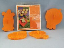Wilton Halloween Cookie Cutters 8 Metal and 4 Plastic Baking Kitchen