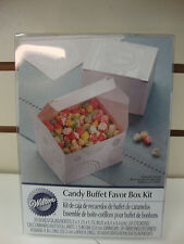 20 ct  WILTON CANDY FAVOR BOXES  - WEDDING FAVORS, PARTY FAVORS