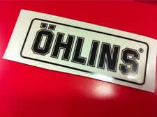 1 Adesivo OHLINS ammortizzatori pistoncino Black