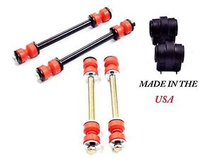 6PC MADE IN USA SWAY BAR LINKS+BUSHINGS FORD EXPLORER MERCURY MOUNTAINEER 06-10