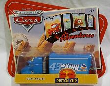 Disney Pixar Cars Mini Adventures Piston Cup Gray Hauler NEW 2010 Mattel