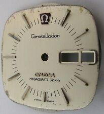 Omega 1310 watch part: Dial & hands for Constellation Megaquartz 32KHz