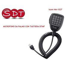 Hm-152t Micrófono DTMF original ICOM per Ic-2725e /e208/2200h/f1710/f1810 /f110