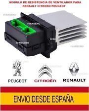 MODULO DE RESISTENCIA VENTILADOR CALEFACION 7701048390 RENAULT PEUGEOT CITROEN