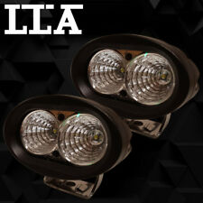 2PCS 20W LLA CREE LED WORK LIGHT FLOOD BEAM 4WD 4X4